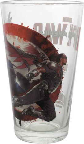 Captain America Civil War Falcon TT Pint Glass
