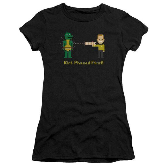 Star Trek Kirk Phased First Premium Bella Junior Sheer Jersey