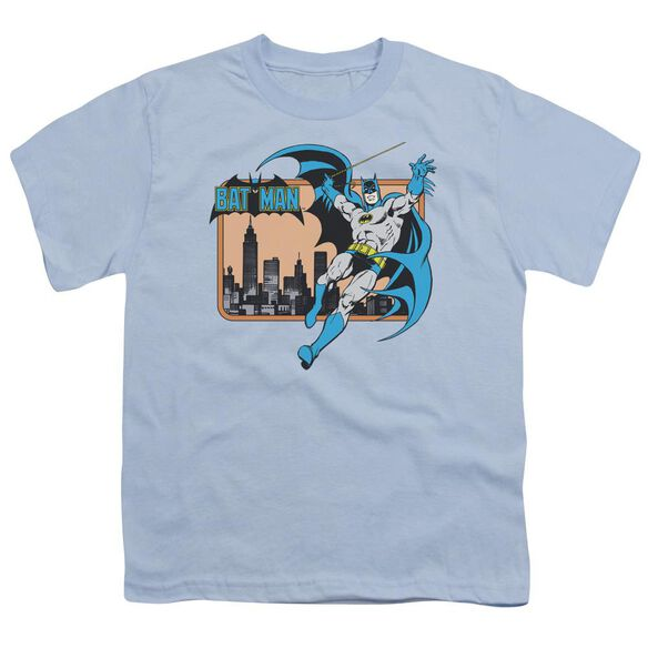 Dc Batman In The City Short Sleeve Youth Light T-Shirt