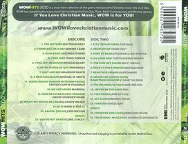 Various Artists - WOW Hits 2010