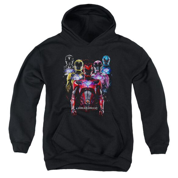 Power Rangers Team Of Rangers Youth Pull Over Hoodie
