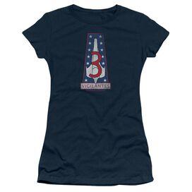 Bsg Vigilantes Badge Short Sleeve Junior Sheer T-Shirt