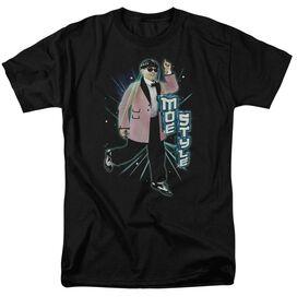 Three Stooges Moe Style Short Sleeve Adult T-Shirt