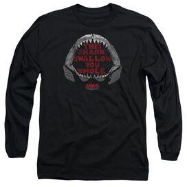 Jaws This Shark Long Sleeve Adult T-Shirt