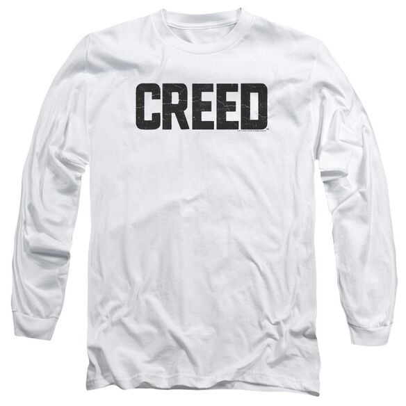 Creed Cracked Logo Long Sleeve Adult T-Shirt