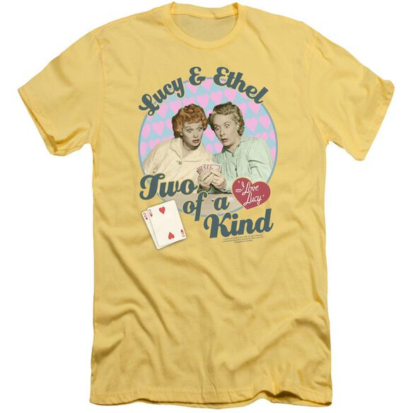 I Love Lucy Two Of A Kind Short Sleeve Adult T-Shirt