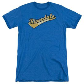 Archie Comics Riverdale High School Adult Heather Ringer Royal Blue
