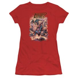 Jla Lost Short Sleeve Junior Sheer T-Shirt