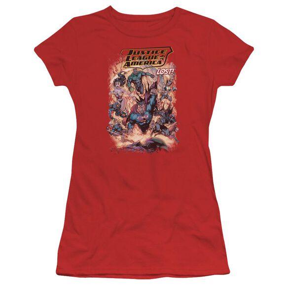 Jla Lost Short Sleeve Junior Sheer T-Shirt