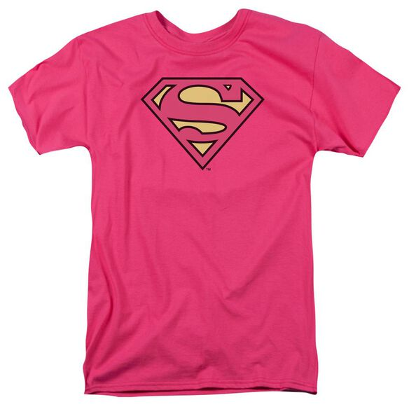 Dc Superman Classic Logo Short Sleeve Adult Hot T-Shirt