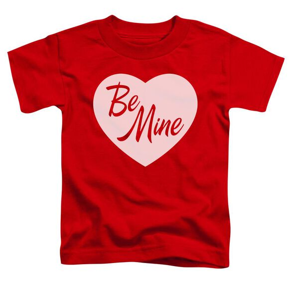 Be Mine Short Sleeve Toddler Tee Red Sm T-Shirt