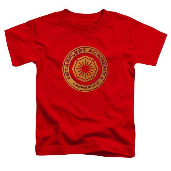 Star Trek Engineering Short Sleeve Toddler Tee Red Md T-Shirt