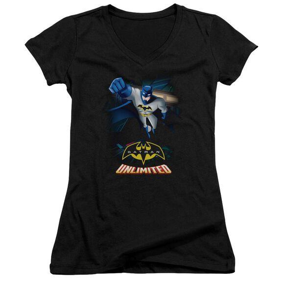 Batman Unlimited Descent Junior V Neck T-Shirt