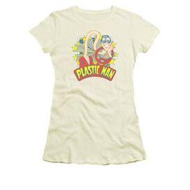 Plastic Man Star Name Juniors T-Shirt
