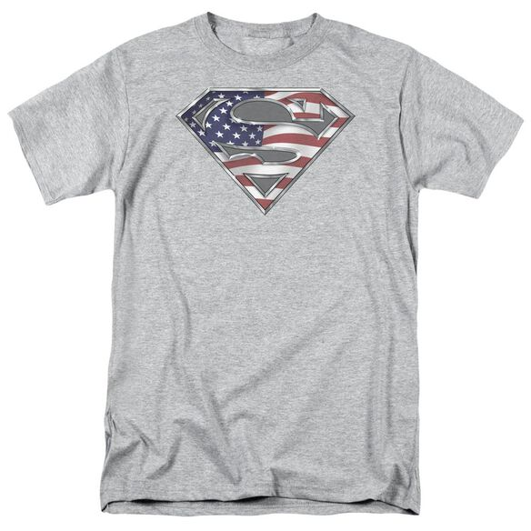 Superman All Short Sleeve Adult Athletic T-Shirt