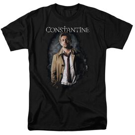 Constantine Smoker Short Sleeve Adult Black T-Shirt
