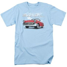Chevrolet Bel Air Clouds Short Sleeve Adult Light Belue T-Shirt