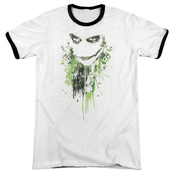 Dark Knight Engine Of Chaos Adult Ringer White Black
