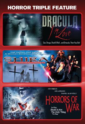 Dracula In Love + Shira: The Vampire Samurai + Horrors Of War