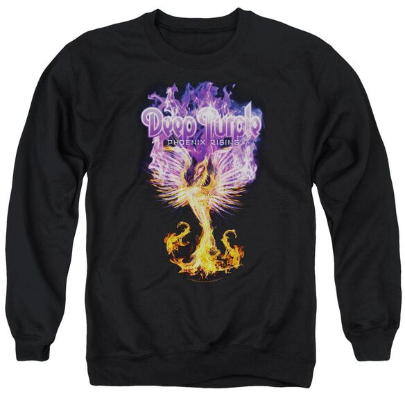 Deep Purple Phoenix Rising Adult Crewneck Sweatshirt