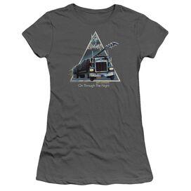 Def Leppard On Through The Night Short Sleeve Junior Sheer T-Shirt