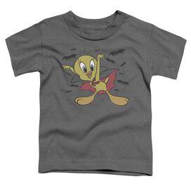 Looney Tunes Vampire Tweety Short Sleeve Toddler Tee Charcoal T-Shirt