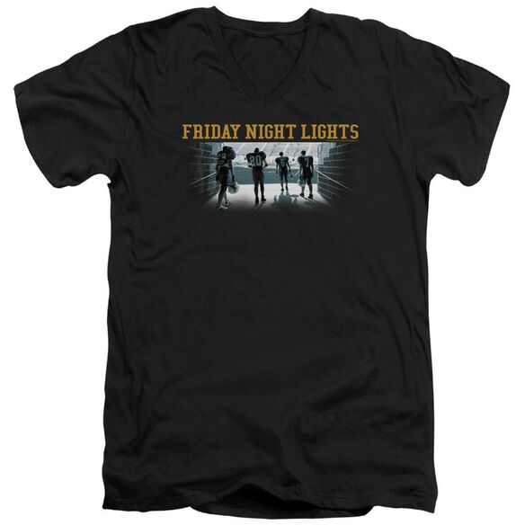 Friday Night Lights Game Time Short Sleeve Adult V Neck T-Shirt