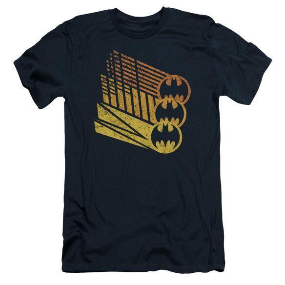 Batman Bat Signal Shapes Short Sleeve Adult T-Shirt