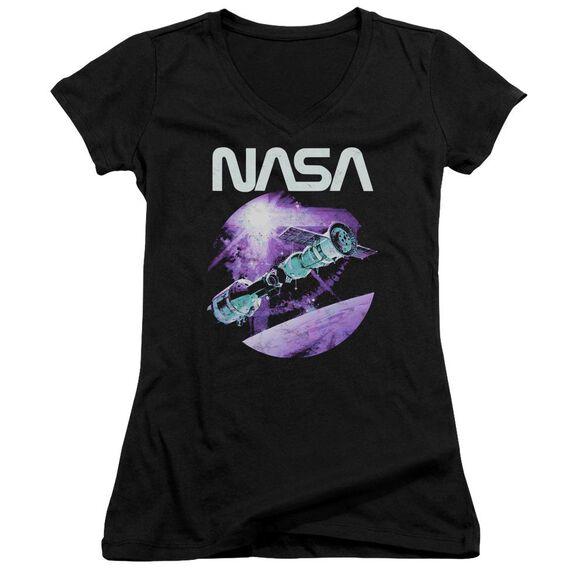 Nasa Come Together Junior V Neck T-Shirt