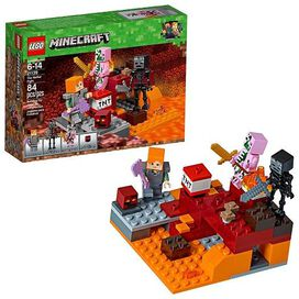 LEGO Minecraft the Nether Fight Building Kit