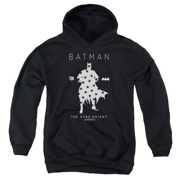 Batman Star Silhouette Youth Pull Over Hoodie