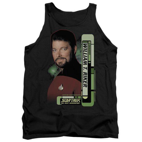 Star Trek Riker Adult Tank