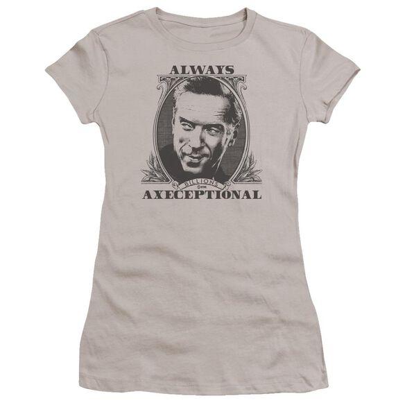 Billions Axeceptional Hbo Short Sleeve Junior Sheer T-Shirt
