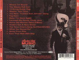 Bob Gibson - Where I'm Bound