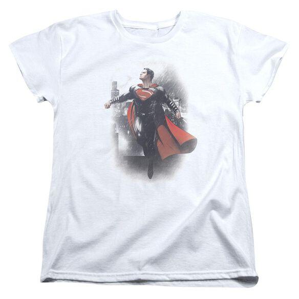 Batman Vs Superman A New Dawn Short Sleeve Womens Tee T-Shirt