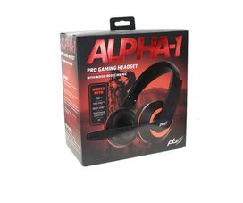 PBX Alpha-1 Pro Gaming Headset with Noise Reducing Mic