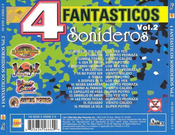 4 Fantasticos Sonidervol2