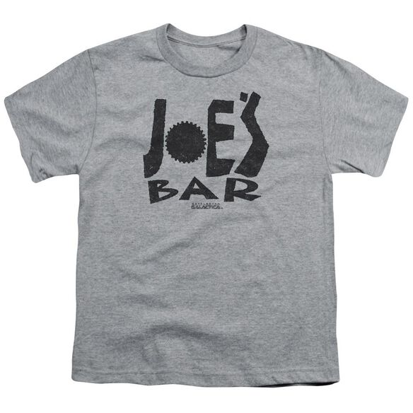 Bsg Joes Bar Logo Short Sleeve Youth Athletic T-Shirt