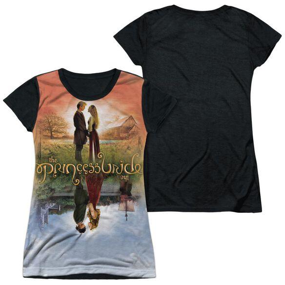 Princess Bride Poster Sub Short Sleeve Junior Poly Black Back T-Shirt
