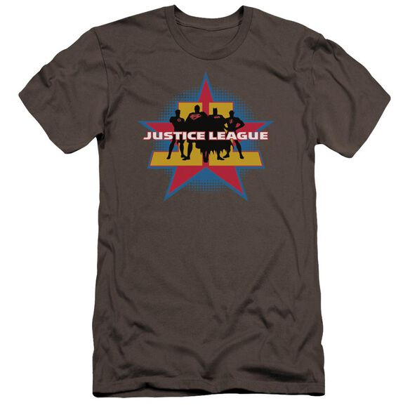 Jla Stand Tall Premuim Canvas Adult Slim Fit