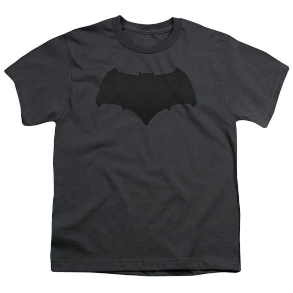 Justice League Movie Batman Logo Short Sleeve Youth T-Shirt