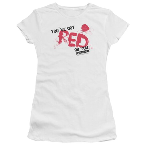 Shaun Of The Dead Red On You Premium Bella Junior Sheer Jersey