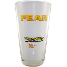 Green Lantern Fear Glass