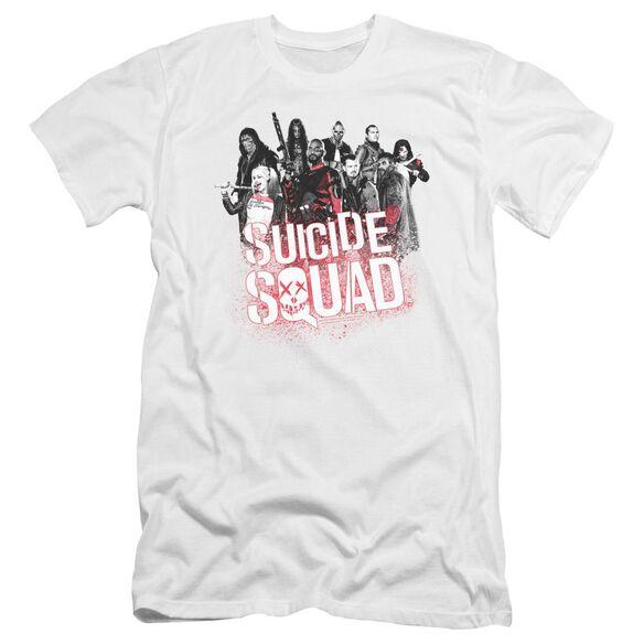 Suicide Squad Squad Splatter Premuim Canvas Adult Slim Fit