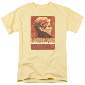 David Bowie Stage Tour Berlin 78 Short Sleeve Adult T-Shirt