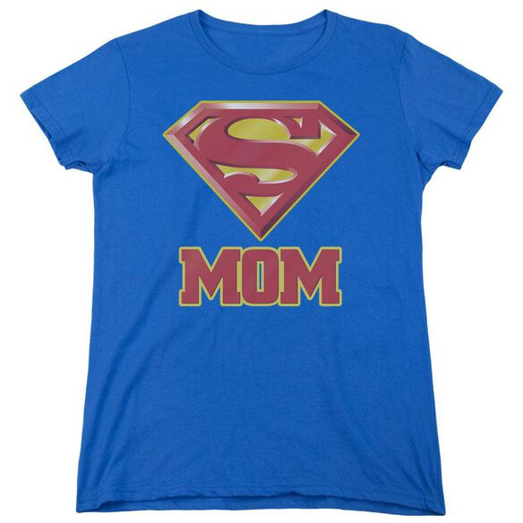 SUPERMAN SUPER MOM-S/S WOMENS T-Shirt