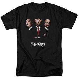 Three Stooges Wiseguys Short Sleeve Adult T-Shirt