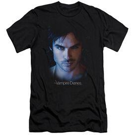 Vampire Diaries Damon Premuim Canvas Adult Slim Fit