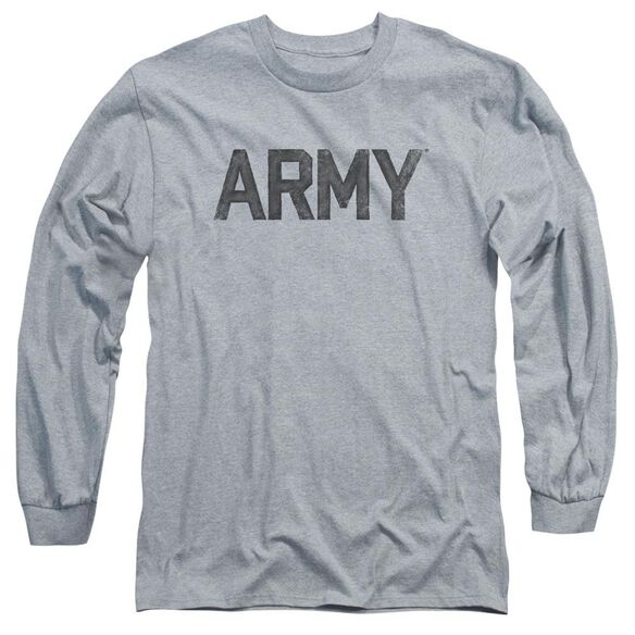Army Star Long Sleeve Adult Athletic T-Shirt