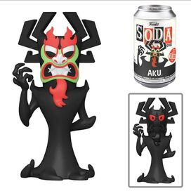 Funko Soda: Samurai Jack - Aku (w/chase)